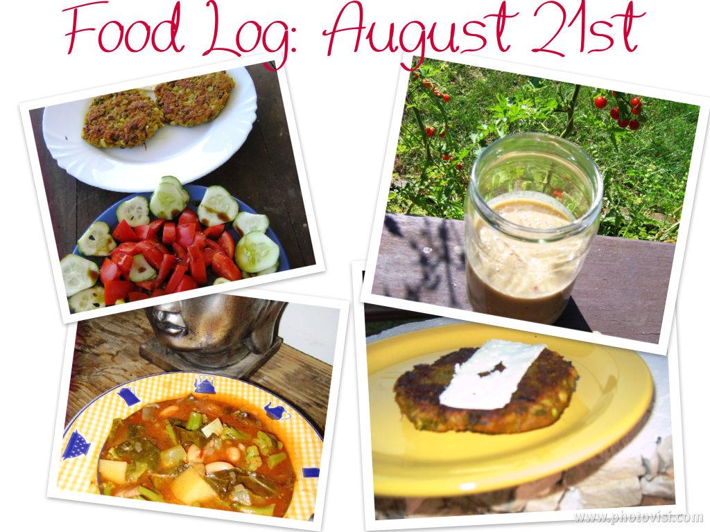 Eating clean & lean: Food Log 01