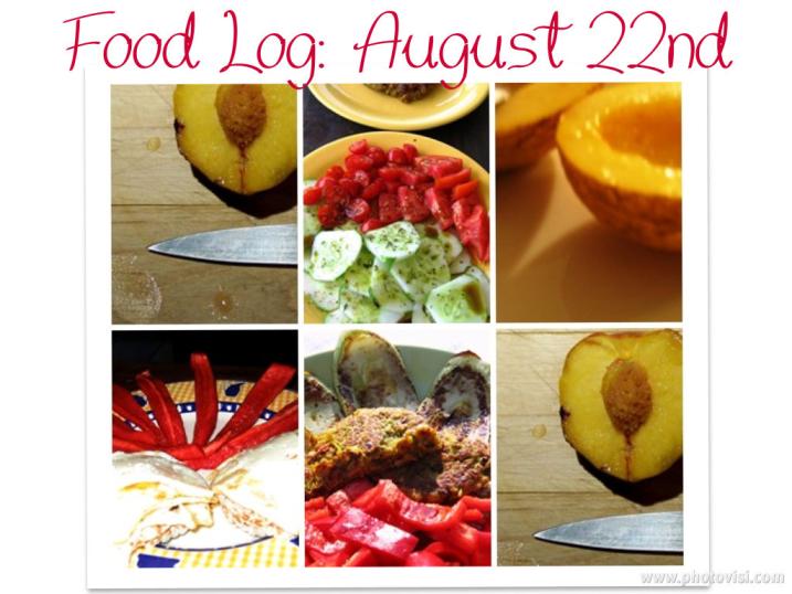eating clean: food log august 22