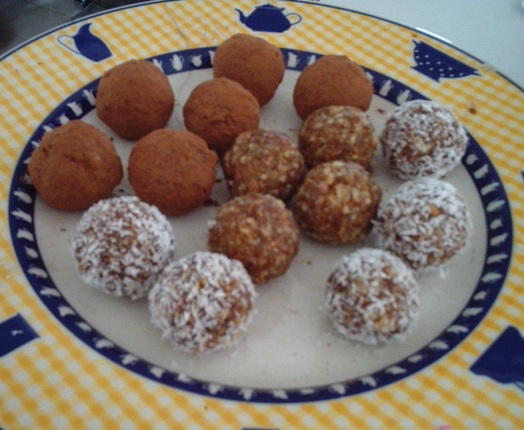 nut ball recipe