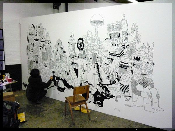 wall drawing ideas images - reverse search